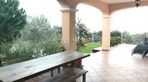 House with garden, pool and incredibles views-kitchen-livingroom-porch