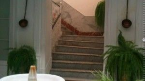 The master staircase to upper floors
